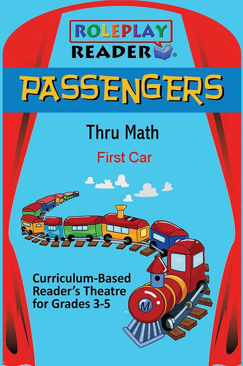 Passengers Thru Math (3-5) (36 Books)