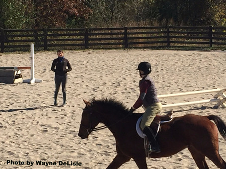 In the News: One Hunter Jumper's Epic Cross Training Lesson with Meghan O'Donoghue
