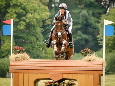 Meghan named to 2017 USEF High Performance Training List