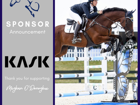Meghan O'Donoghue Eventing Announces Partnership with KASK equestrian