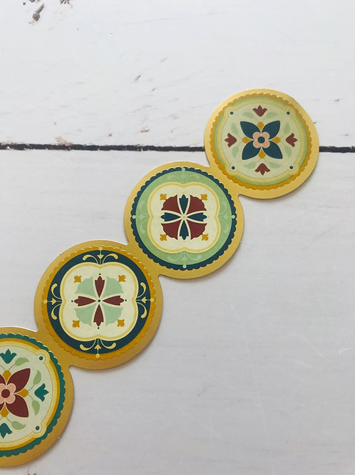 Stickers Círculo Gold