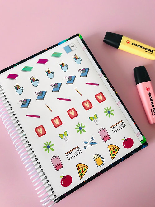 STICKERS TIPO PLANNER