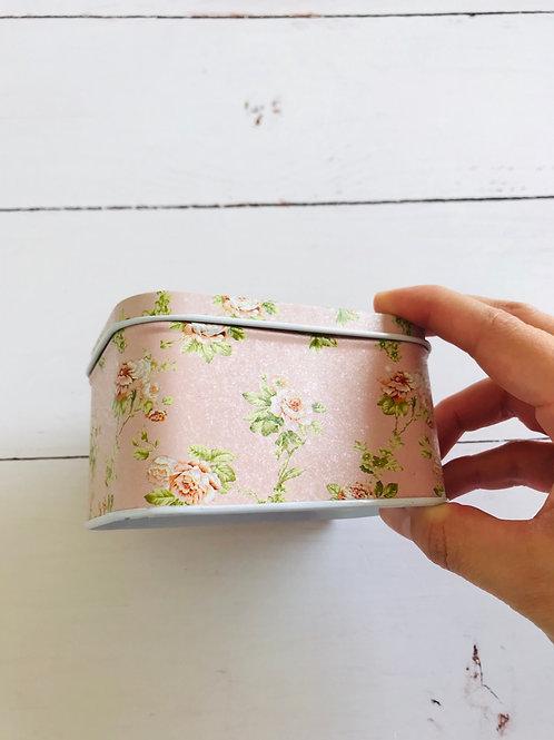 Cajita Flores Pink