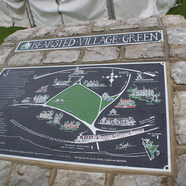 Bearsted Plaque