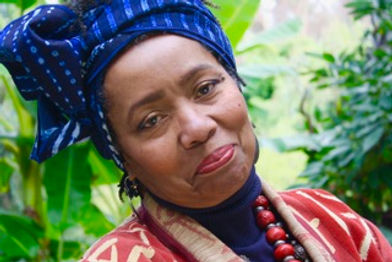 Dr. Patricia Gay, an African-American psychotherapist and artist