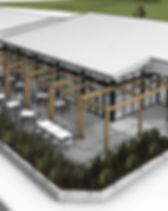 Mt HIra College KITCC & ELC Ext 3D View