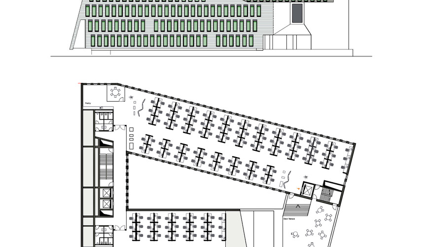 6 green star office - elevation, plan.jpg