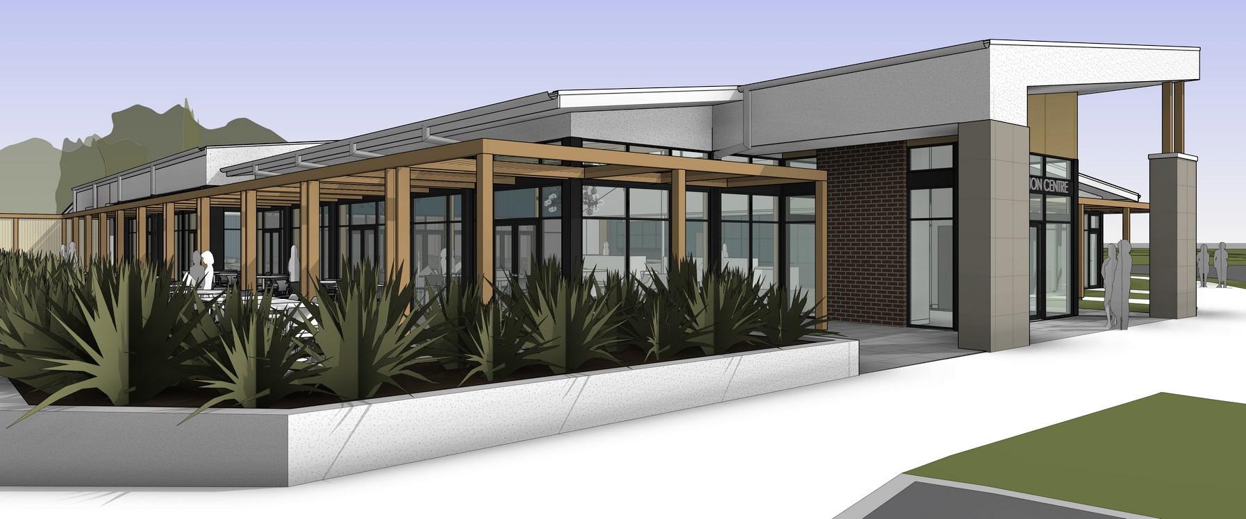 Mt HIra College KTICC & ELC Ext 3D View