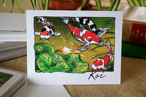 Koi | 8 Boxed Note Cards