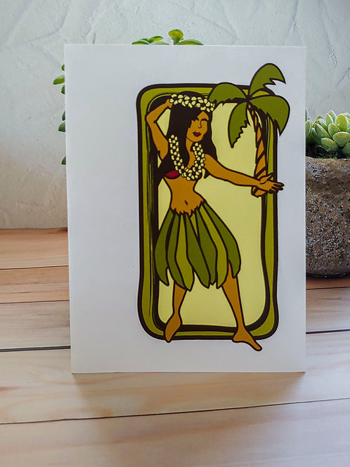 Hula Girl | 8 Boxed Note Cards