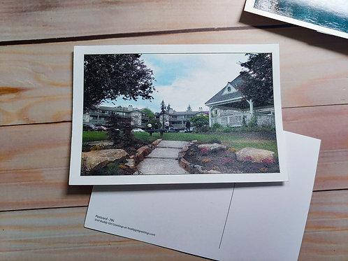 The Winslow Green and Gazebo | Postcard