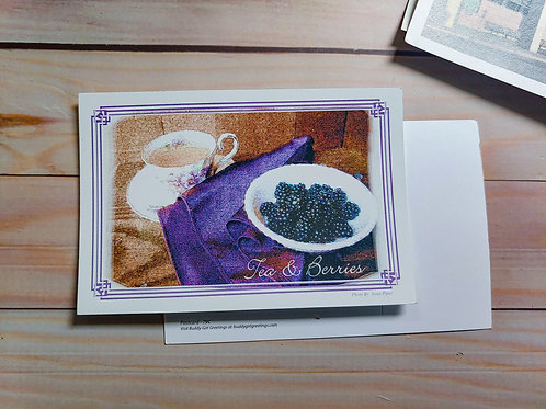 Tea & Berries | Postcard