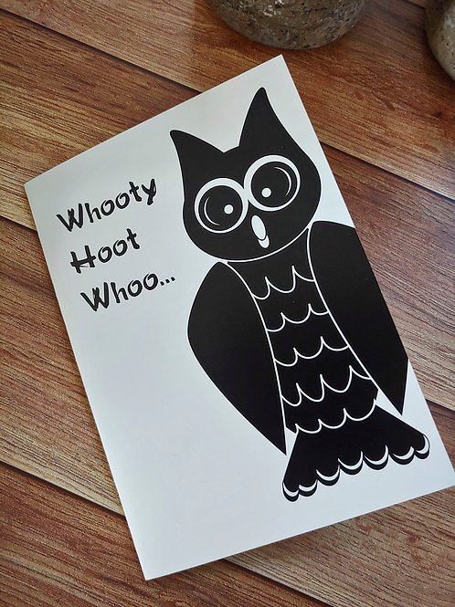 Whooty Hoot...Birthday | 8 Boxed Greeting Cards