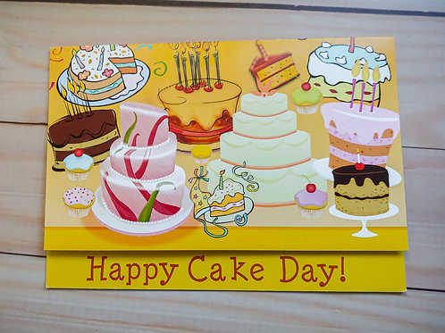 Happy Cake Day! | 8 Boxed Greeting Cards