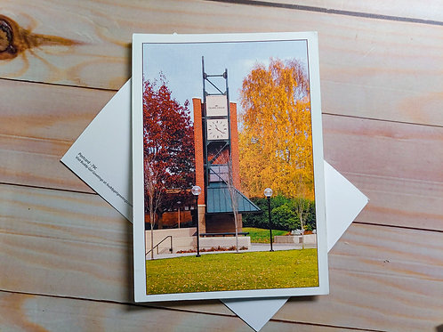 Olympic College Clock | Postcard