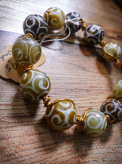 Jade | Wire Wrapped Bracelets