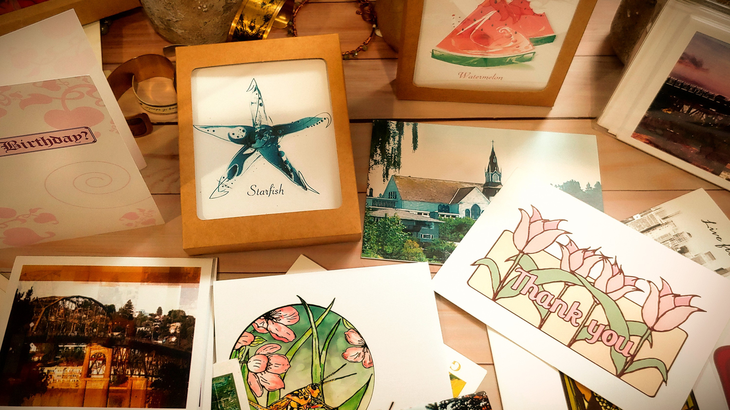 Cards, Prints, & More...