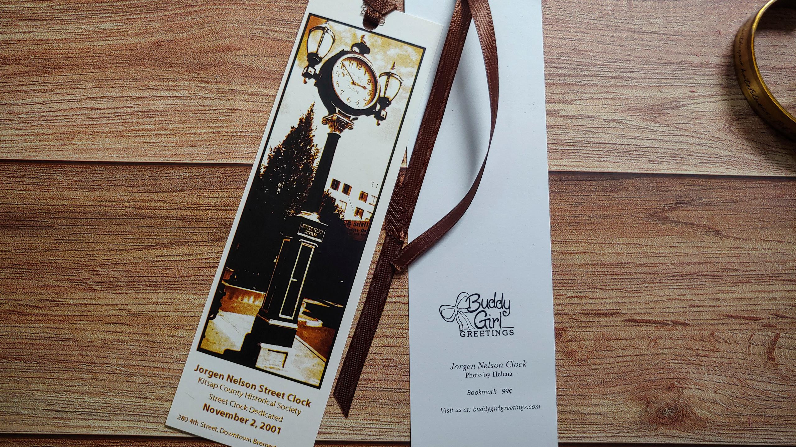 Jorgen Nelson Clock | Bookmark