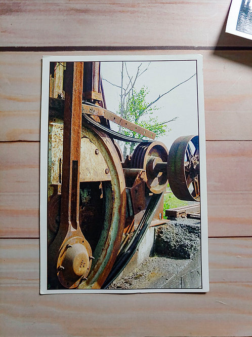 The Wehrhahn Saw - Early 1900s | Postcard