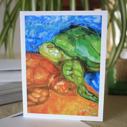 Sea Turtles | 8 Boxed Note Cards