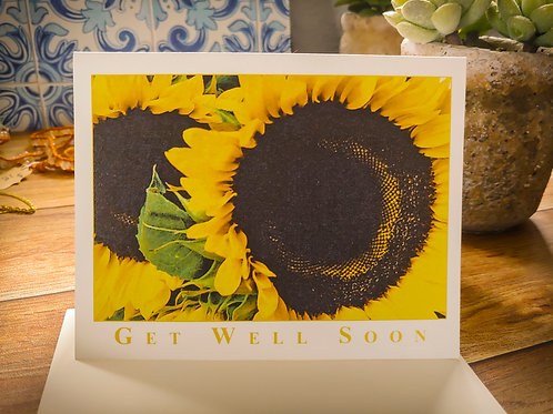 "Sunflower ""Get Well Soon"" 