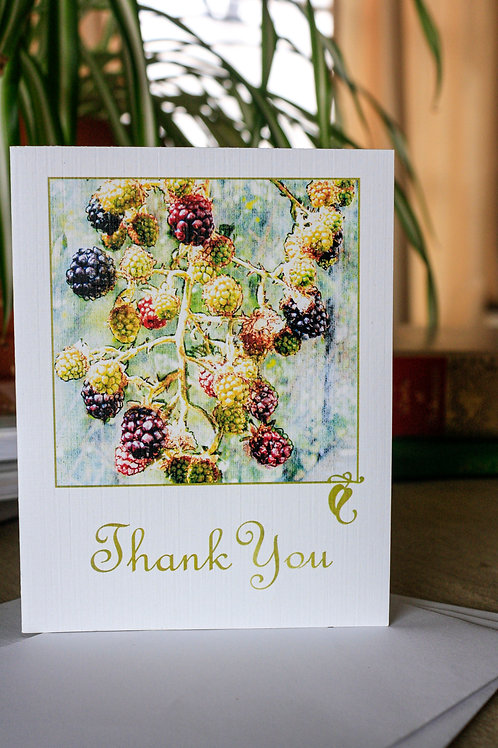 Thank You...Berry Much | 8 Boxed Greeting Cards