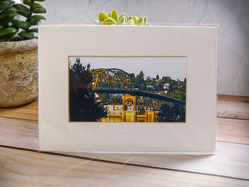 Original Manette   Open Edition Matted Print