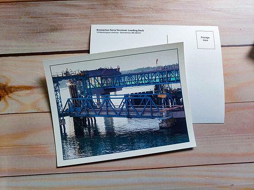 Ferry Loading Deck | Postcard