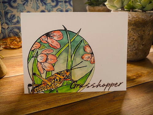 Grasshopper | 8 Boxed Note Cards