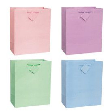 Bag Gift Large Pastel Assorted