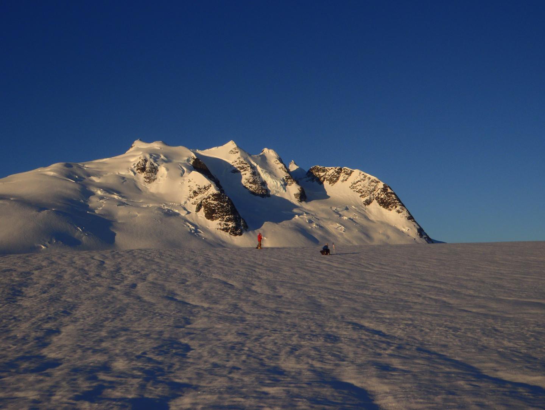 War Drum Glacier sunrise