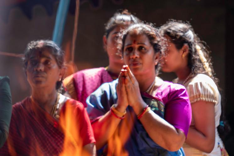 Mulheres em devoção