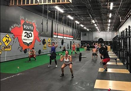 Cross training in New Philadelphia, Ohio