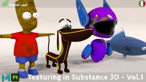 Texturing in Substance e Maya - Vol.1