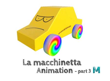 La macchinetta - Animation  (part 3)