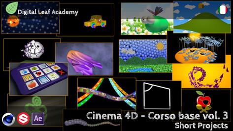 Cinema 4D - Corso Base Vol.3