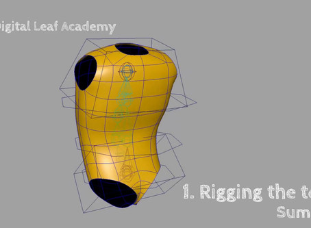 """""""How to rig characters in Maya"""" - 1st chapter ready !"""