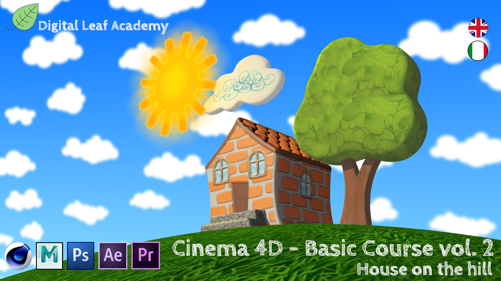 Cinema 4D - House On The Hill