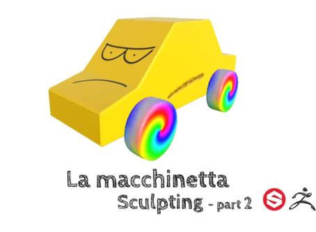 La macchinetta - Sculpting (part 2)