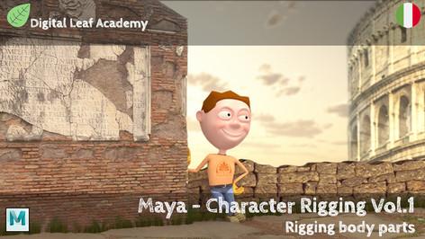 Maya - Character Rigging Vol.1