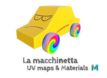 La macchinetta - UV Maps & Materials