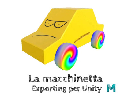 La macchinetta - Exporting per Unity