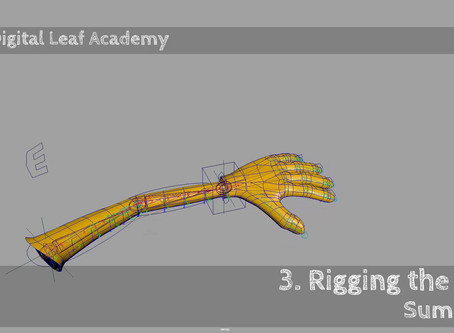 Chapter 3: rigging the arm !  (And the hand).