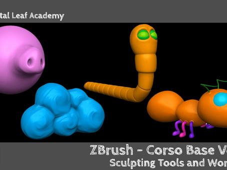 ZBrush - Corso Base Vol. 1