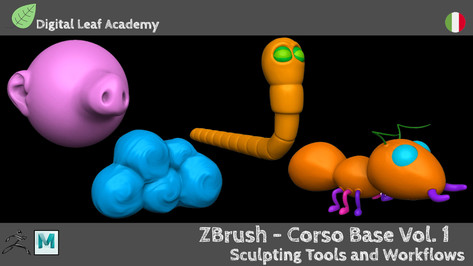 ZBrush - Corso Base Vol.1