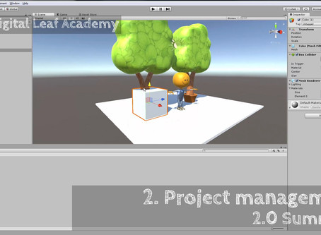 Chapter 2 ! Unity Project Management