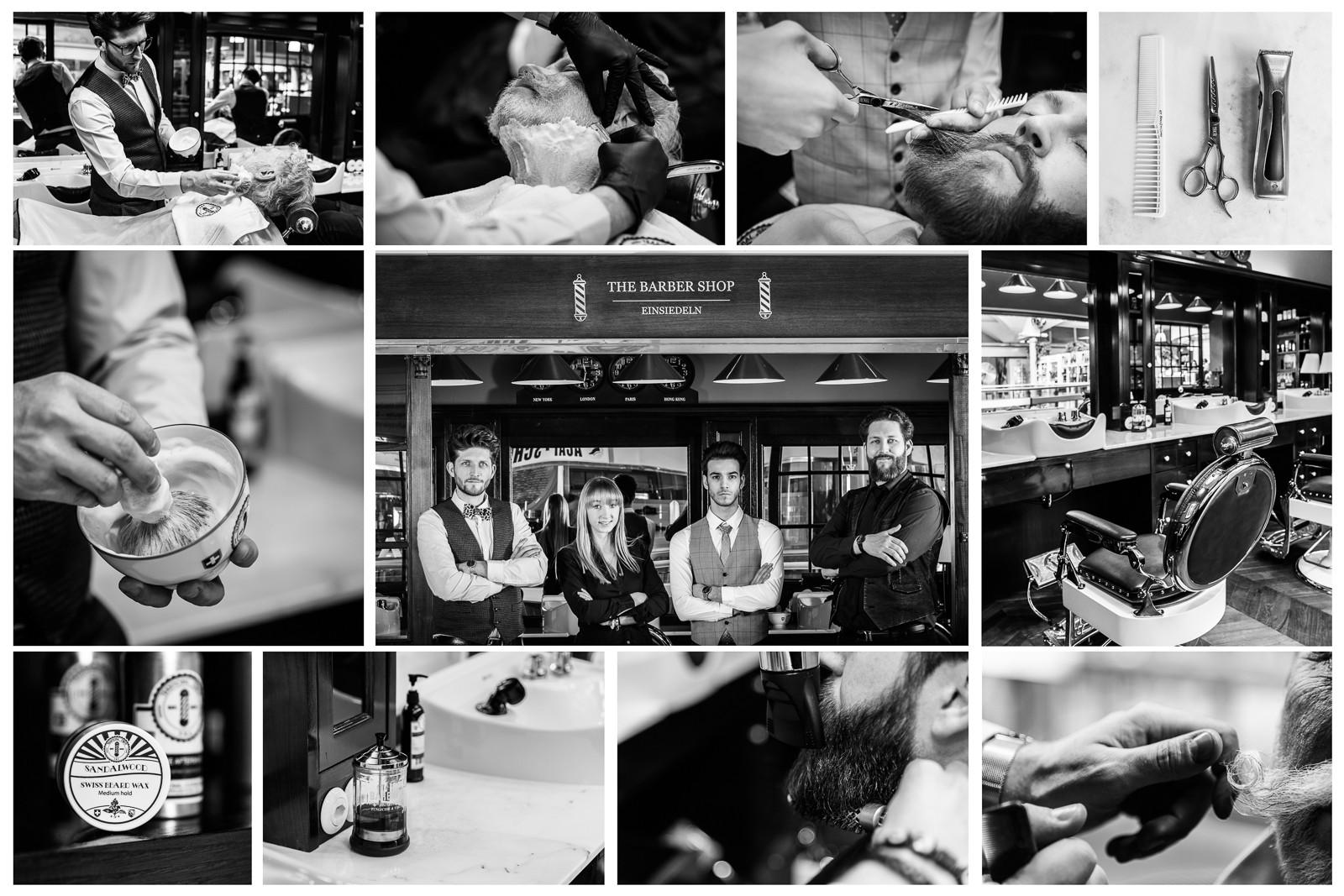 Businessfotos für Barber Shop