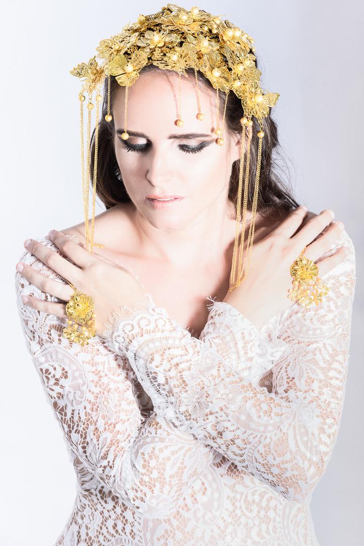 Romantic lace princess