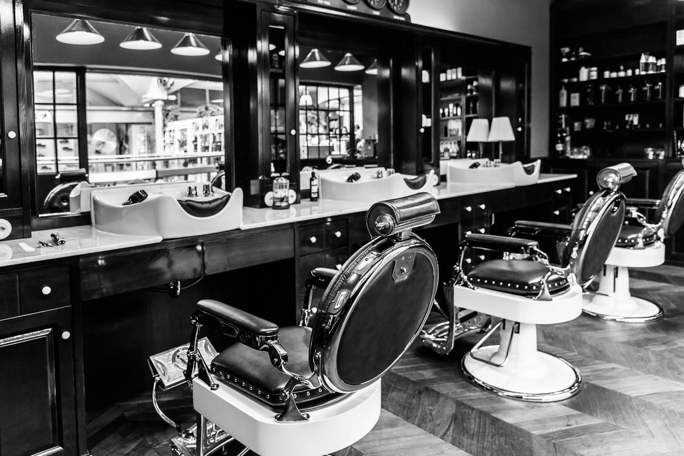 Barber Shop Einsiedel Räumlichkeiten BK Studio