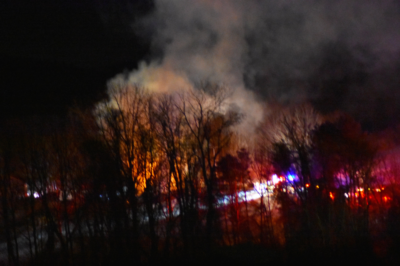 Easton NY fire